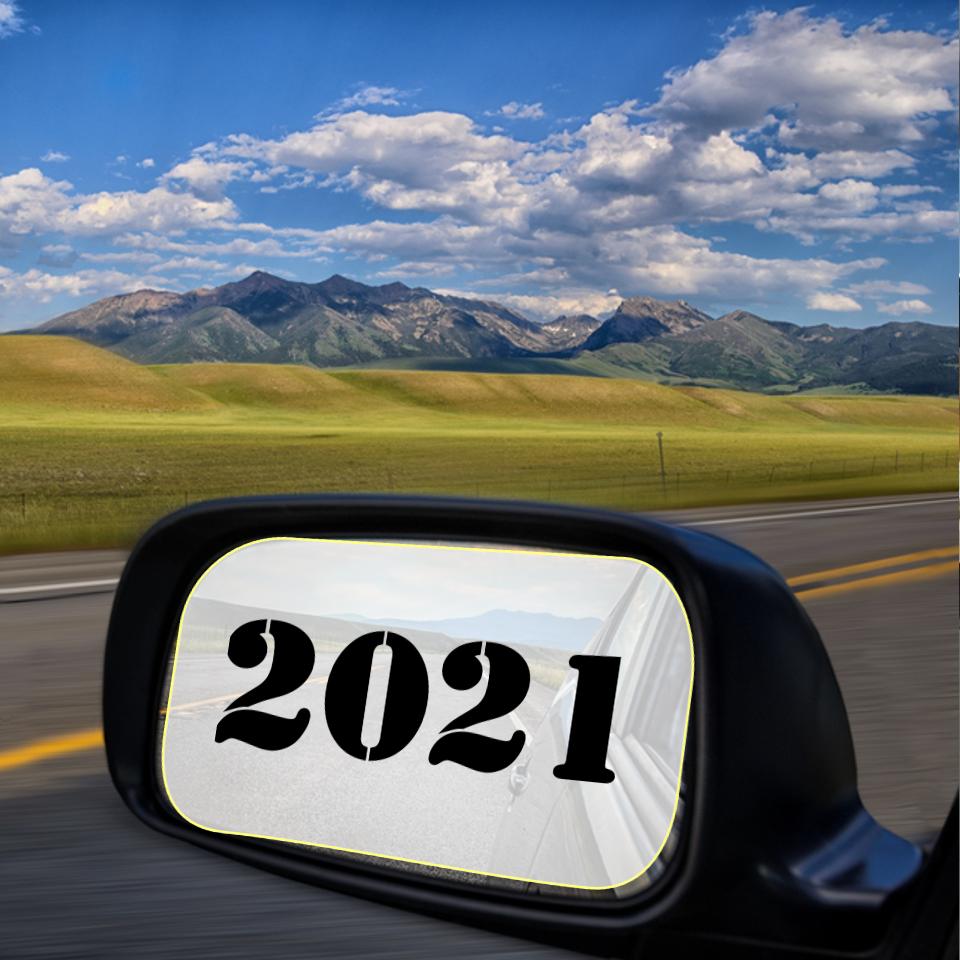 2021 in rearview mirror